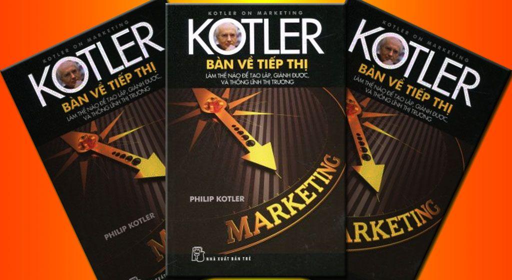 Philip Kotler Book: Sách tiếp thị Marketing