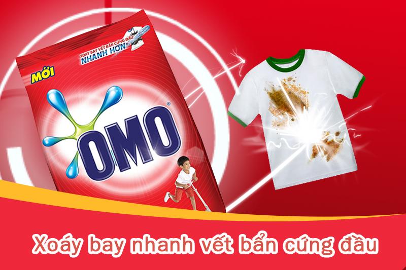 slogan của Omo: chiến dịch marketing hoàn hảo