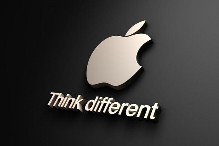 slogan nổi tiếng của Apple