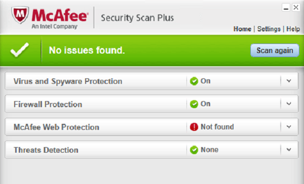 Cài đặt McAfee Security Scan như thế nào?