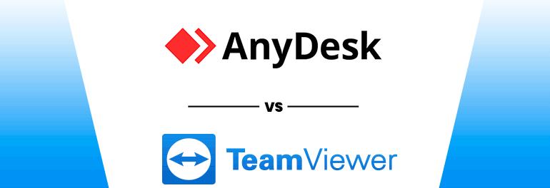 Sự khác biệt của phần mềm TeamViewer và AnyDesk?