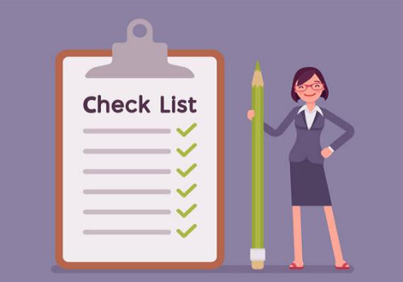Ứng dụng của checklist