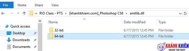 Tìm file active trong phần càii đặt