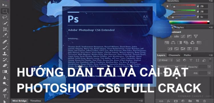 Hướng dẫn tải photoshop cs6