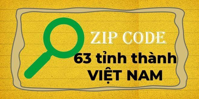 Mã bưu điện là gì? (Cập nhật) mã bưu chính 63 tỉnh thành Việt Nam