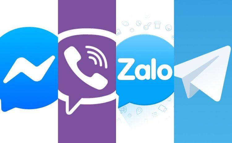 Top 9 ứng dụng chat phổ biến tại Việt Nam được ưu chuộng